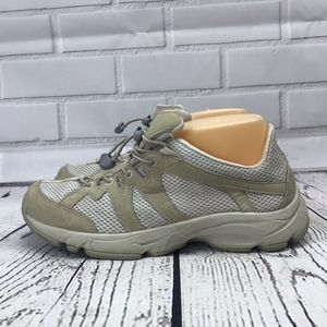 LL Bean Tan Hiking Vented Sneaker Sandals Size 9